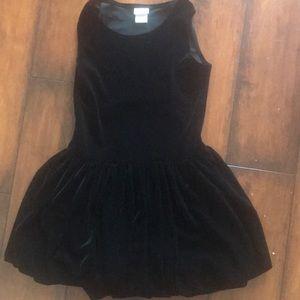Black Velore holiday dress
